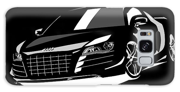 Car Galaxy S8 Case - Audi R8 by Michael Tompsett