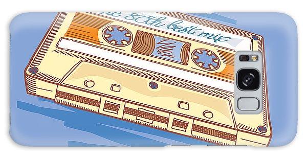 Record Galaxy Case - Audio Cassette by Alex bond