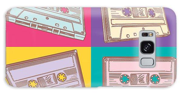 Record Galaxy Case - Audio Cassettes by Alex bond