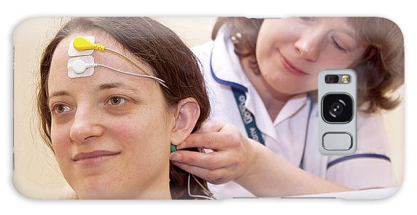 Brainstem Galaxy Case - Auditory Brainstem Response Test by Life In View/science Photo Library