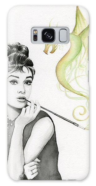 Dragon Galaxy S8 Case - Audrey And Her Magic Dragon by Olga Shvartsur