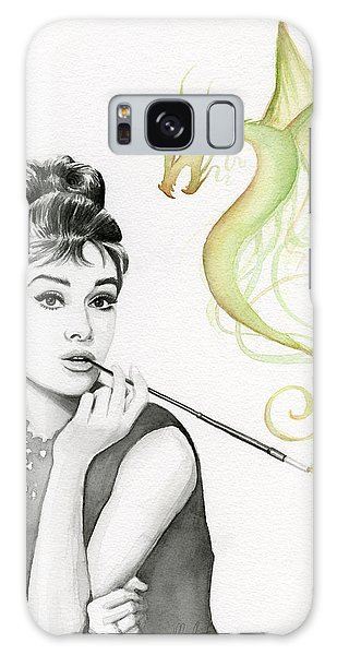 Dragon Galaxy S8 Case - Audrey And Her Magic Dragon by Olga Shvartsur
