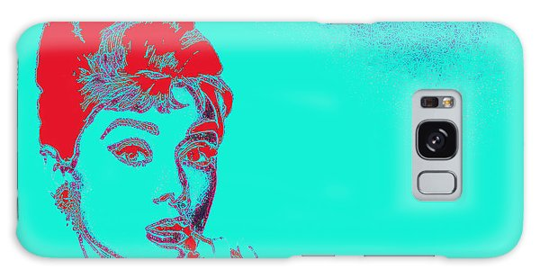 Audrey Hepburn 20130330v2p128 Galaxy Case