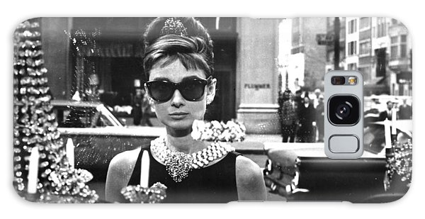 Audrey Hepburn Galaxy S8 Case - Audrey Hepburn Breakfast At Tiffany's by Georgia Fowler