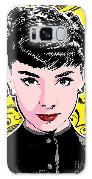 Hollywood Galaxy Case - Audrey Hepburn Pop Art by Jim Zahniser