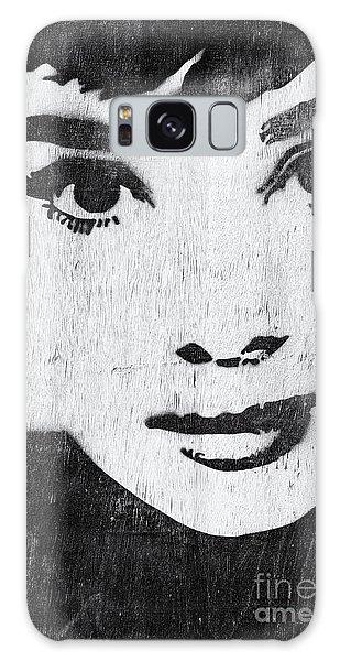 Audrey Hepburn Galaxy Case
