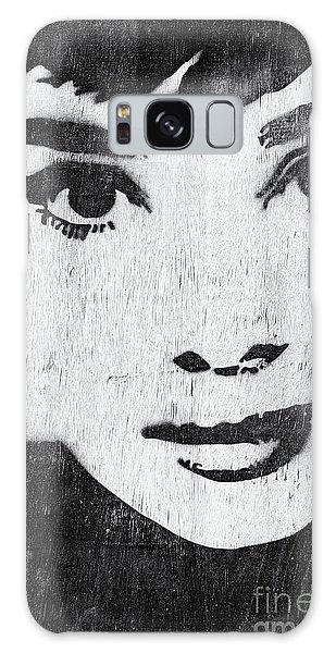 Actor Galaxy Case - Audrey Hepburn by Tim Gainey