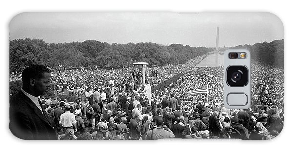 March On Washington Galaxy Case - August 28, 1963 - A Huge Crowd by Stocktrek Images