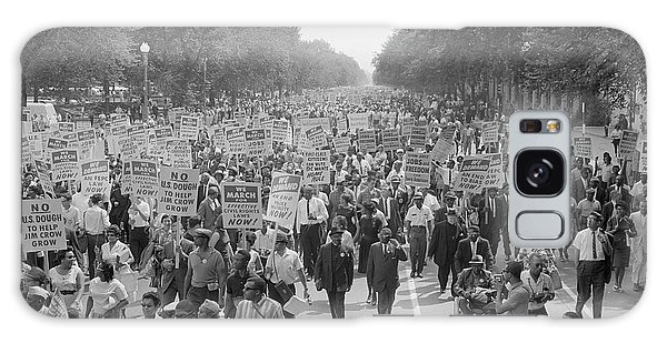 March On Washington Galaxy Case - August 28, 1963 - A Large Group by Stocktrek Images