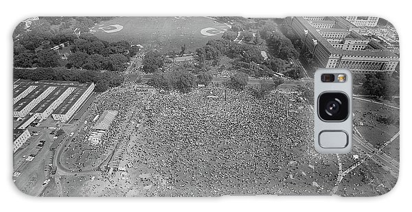 March On Washington Galaxy Case - August 28, 1963 - Aerial View by Stocktrek Images