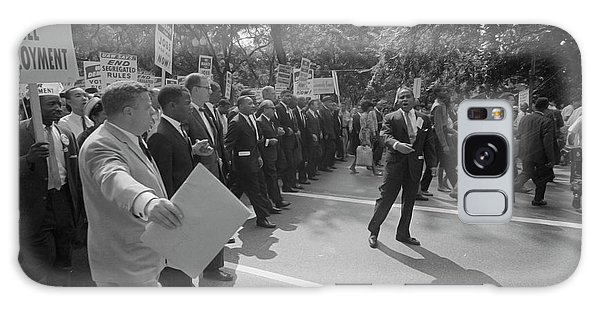 March On Washington Galaxy Case - August 28, 1963 - Martin Luther King by Stocktrek Images