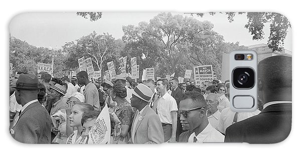 March On Washington Galaxy Case - August 28, 1963 - Protestors by Stocktrek Images