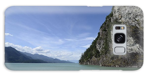August Afternoon On Harrison Lake Bc Galaxy Case