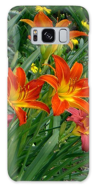 Lilies Galore Galaxy Case