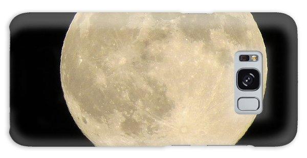 August Full Moon Galaxy Case