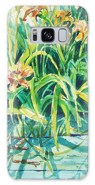 August Shadows Galaxy Case by Joy Nichols