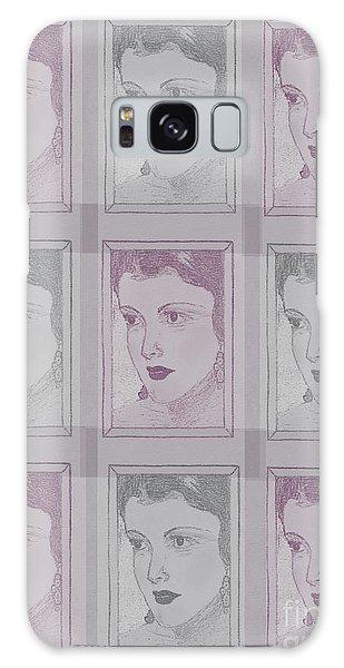 Aunt Edie Print Galaxy Case