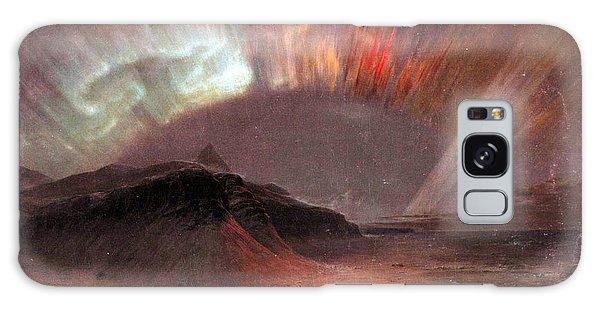 Aurora Borealis By Frederick Edwin Church Galaxy Case