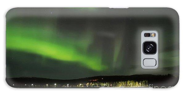 Aurora Borealis Galaxy Case