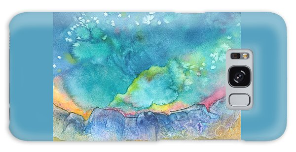 Aurora Borealis Galaxy Case by Nancy Jolley