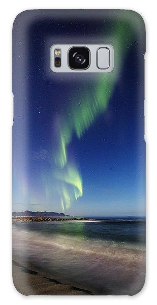 Aurora By The Beach Galaxy Case