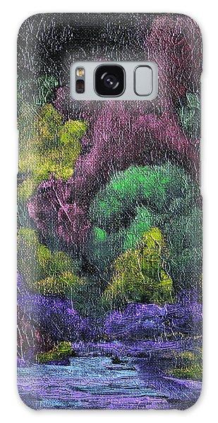 Iridescent Galaxy Case - Aurora Reflection by Donna Blackhall