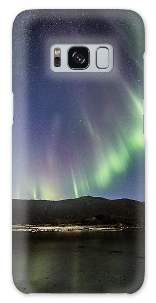 Auroras And Stars Galaxy Case