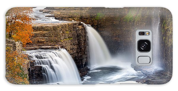 Chasm Galaxy Case - Ausable Chasm Waterfall by Mihai Andritoiu