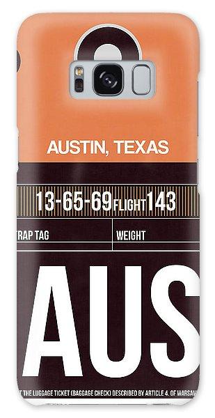 Austin Galaxy Case - Austin Airport Poster 2 by Naxart Studio
