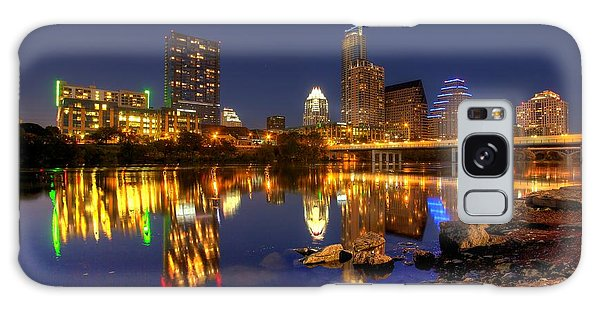 Austin On The Rocks Galaxy Case by Dave Files