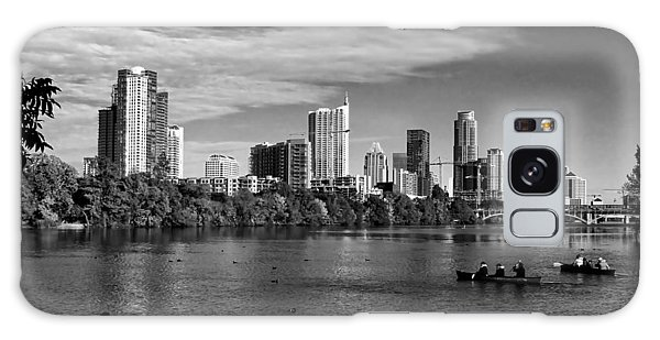 Austin Skyline Bw Galaxy Case