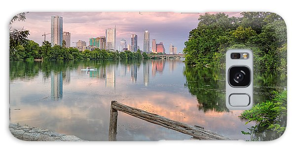 Austin Skyline From Lou Neff Point Galaxy Case