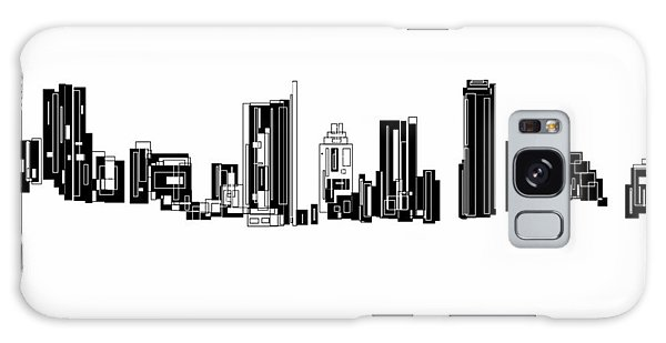 Austin Skyline II Galaxy Case by Sheep McTavish
