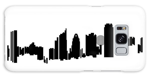 Austin Skyline Galaxy Case by Sheep McTavish
