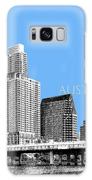 Austin Skyline - Sky Blue Galaxy Case by DB Artist