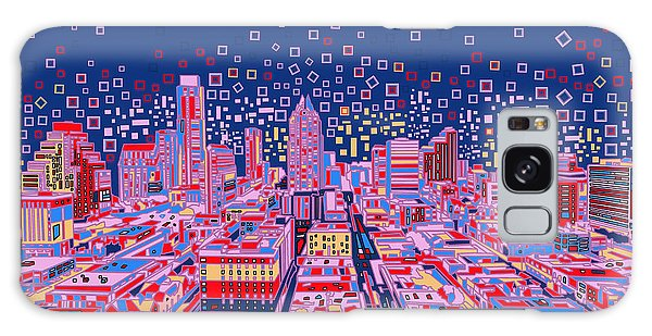Austin Texas Abstract Panorama Galaxy Case