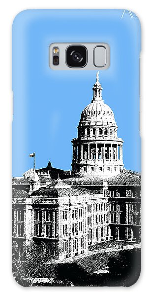 Austin Texas Capital - Sky Blue Galaxy Case