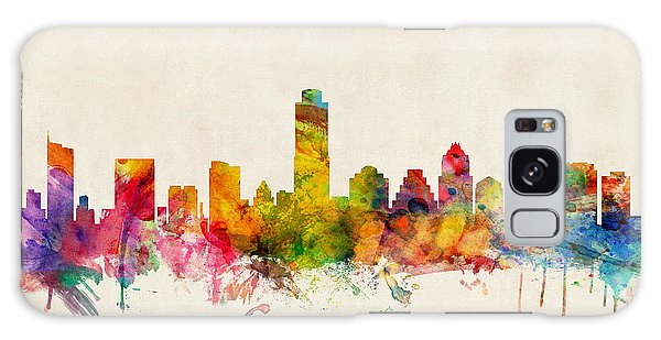 Poster Galaxy Case - Austin Texas Skyline by Michael Tompsett