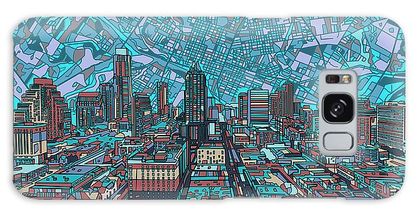 Austin Texas Vintage Panorama 4 Galaxy Case