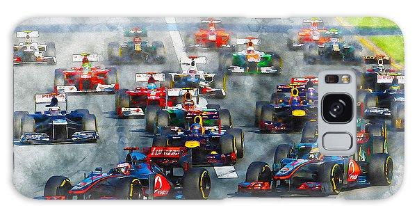 Australian Grand Prix F1 2012 Galaxy Case