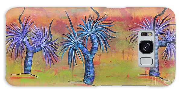 Australian Grass Trees Galaxy Case