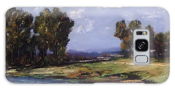 Australian Landscape By The Water  Galaxy Case by Renate Voigt