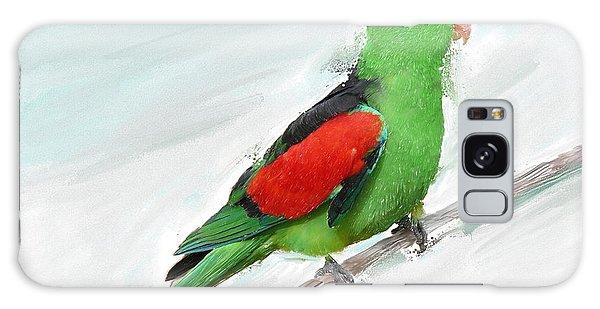 Australian Parrot Galaxy Case