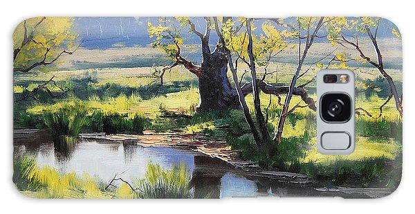 Stream Galaxy Case - Australian River Painting by Graham Gercken
