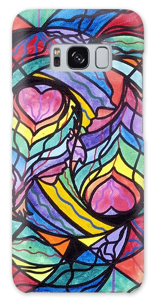 Beautiful Galaxy Case - Authentic Relationship by Teal Eye Print Store