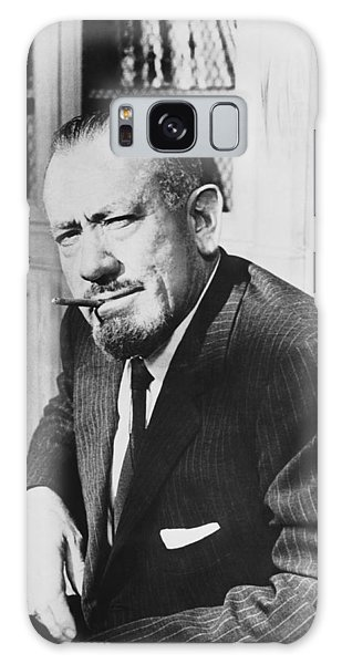 Moustache Galaxy Case - Author John Steinbeck by Underwood Archives
