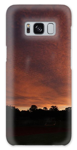 Autum Sunset Galaxy Case