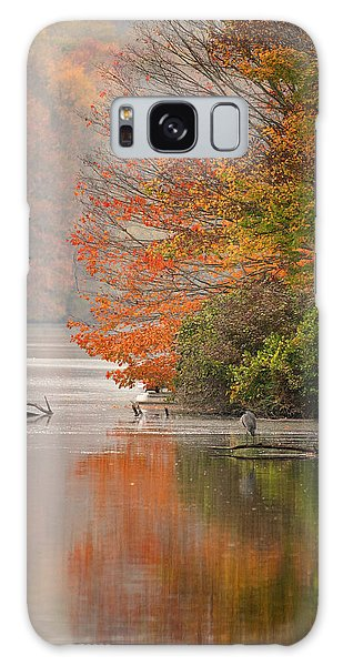 Autumn - Lake Logan Galaxy Case