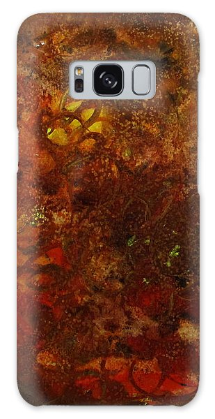 Autumn Abstract Galaxy Case