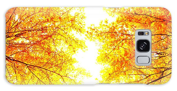 Autumn Abstract Galaxy Case by Tim Good